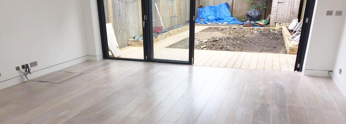 house refurbishment - living room WBO Builders